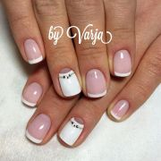 unique summer wedding nail art