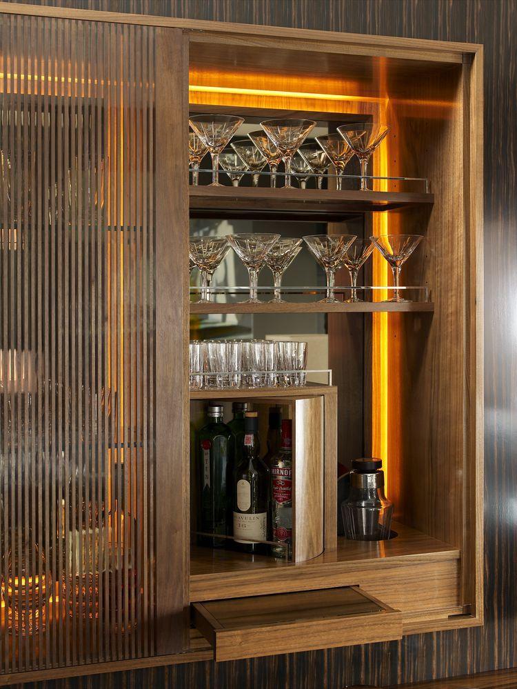 Built in bar  Hospitality  Pinterest  Built ins Bar