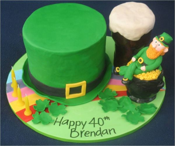 Fine Irish Birthday Cakes Designs The Cake Boutique Birthday Cards Printable Riciscafe Filternl