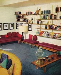 60s Living Room | Remarkably Retro, 1950s living room ...