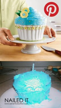Pinterest Fails Nailed It Cake - Year of Clean Water