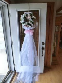 Bridal Shower door decoration | Stuff I want to make ...