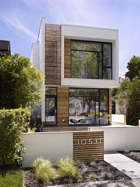 Stunning Modern Home Facade Designs Ideas Wooden Facade House