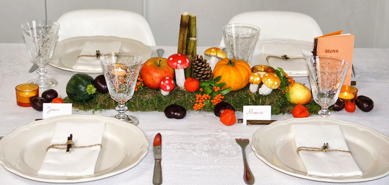 Great Ma Boutique Dco Table Dcoration De Table Automne