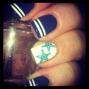 beach themed nails ideas