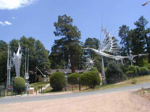 Starr Kempf Mfa Kinetic Sculpture Colorado Springs Home