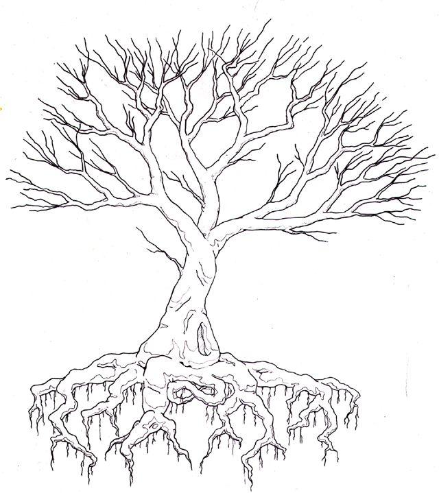 Easy Drawing Tree Life