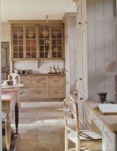 Grey cabinets and stone flooring in the kitchen design idea home garden ideas best decorating sweet  also kitchens rh za pinterest