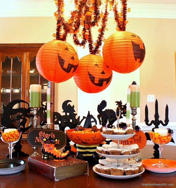 Halloween Party Ideas Tabletop Halloween Parties And Decoration