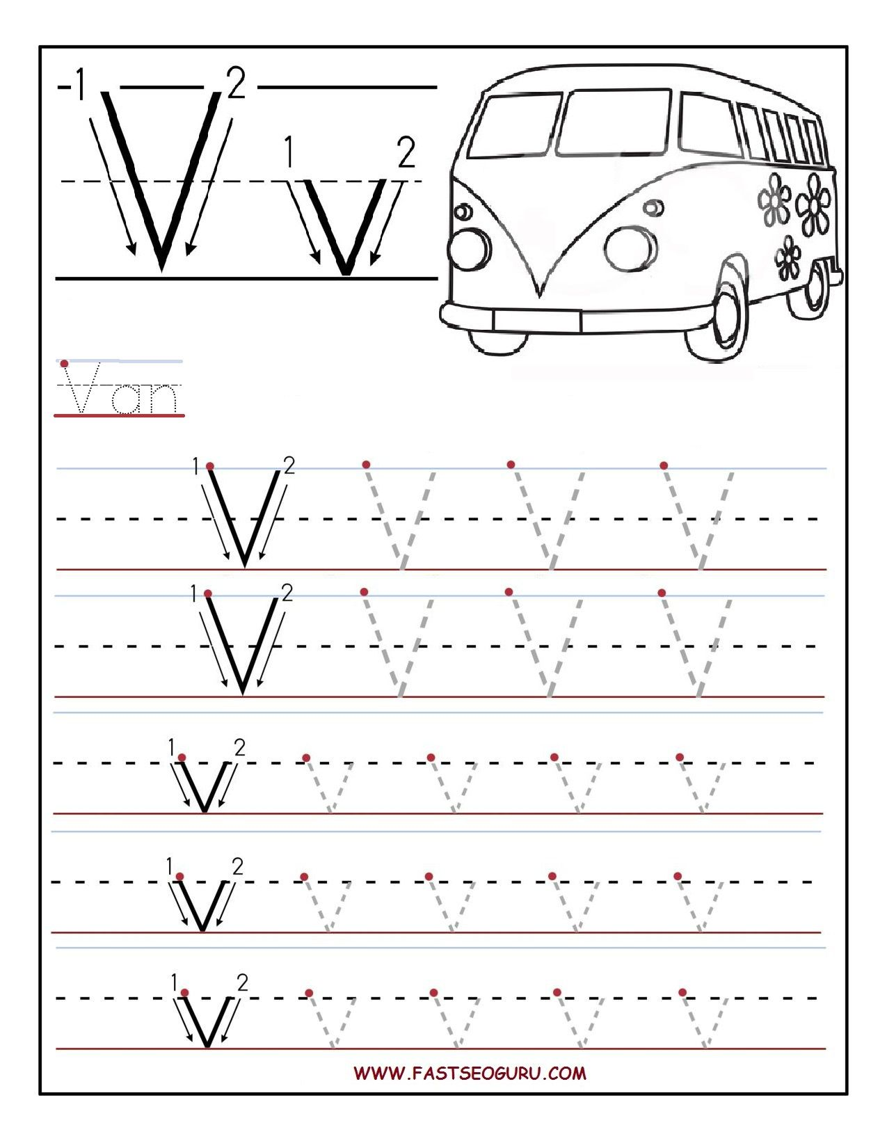 Worksheet Letter V Worksheet Grass Fedjp Worksheet Study