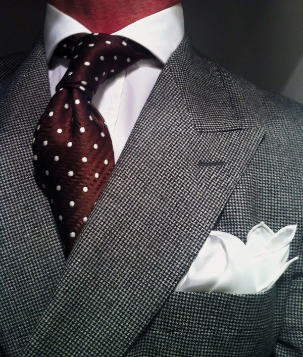 Double Breasted Suits and Ties