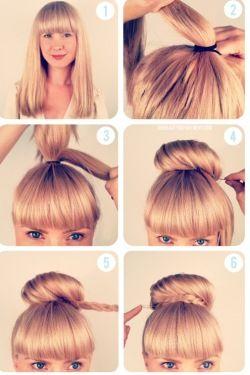 Stilvollen Frisuren Zum Selber Machen 2015 Hair Pinterest