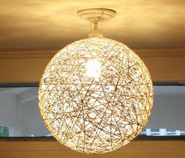 Bare Bulb Light Fixture