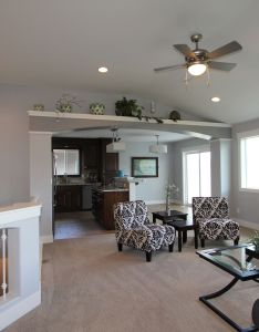Satterfield realty  development  model home living room also rh pinterest