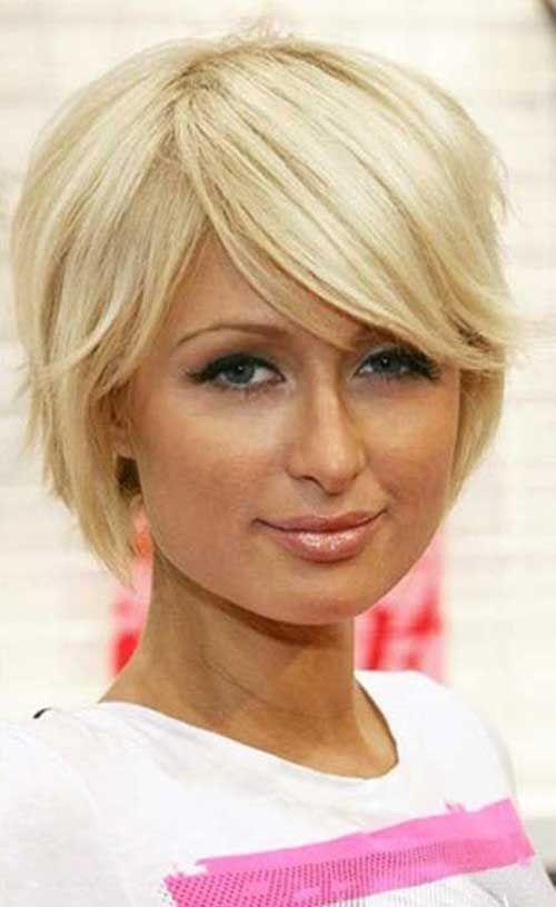 Side Swept Kurze Blonde Haare BESTEN FRİSUREN Pinterest