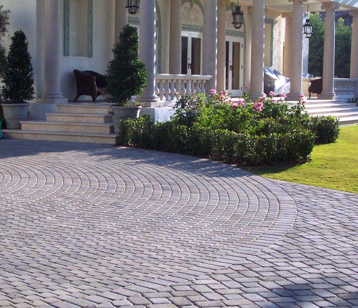 15 Paving Stone Driveway Design Ideas DigsDigs Follow The