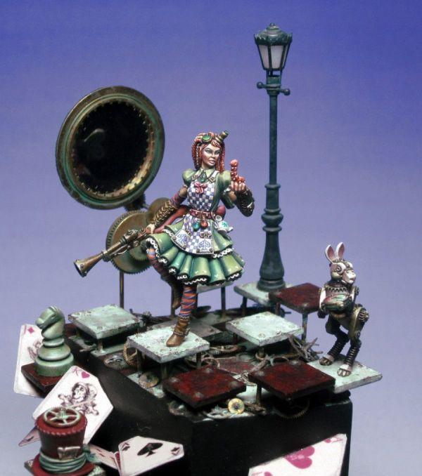 Alice and Wonderland Steampunk