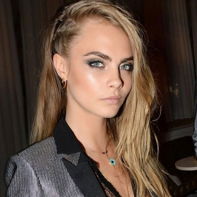 CARA DELEVINGNE Braided Hairstyle 2017 Threads Pinterest