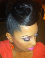 elegant weave hairstyles fade