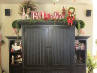 decorating top of china cabinet | Decorating | Pinterest ...