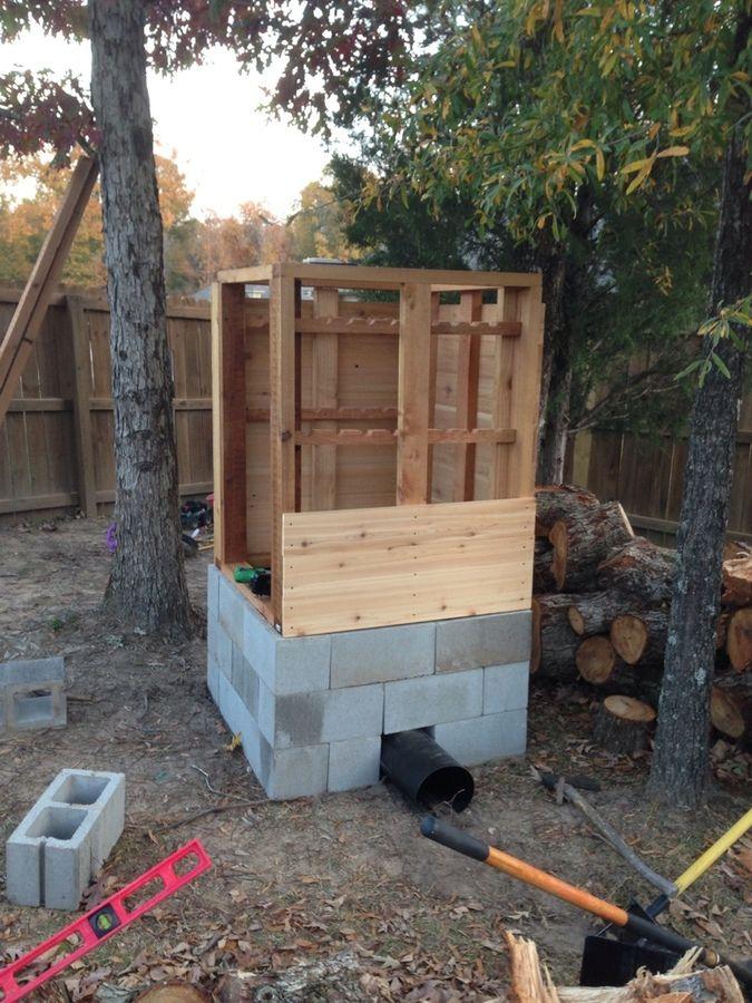 How To Build A Smokehouse Home Design Garden & Architecture