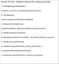 Number The Stars Worksheets. Worksheets. Ratchasima ...