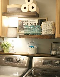 also ways to give your laundry room  vintage makeover rh no pinterest