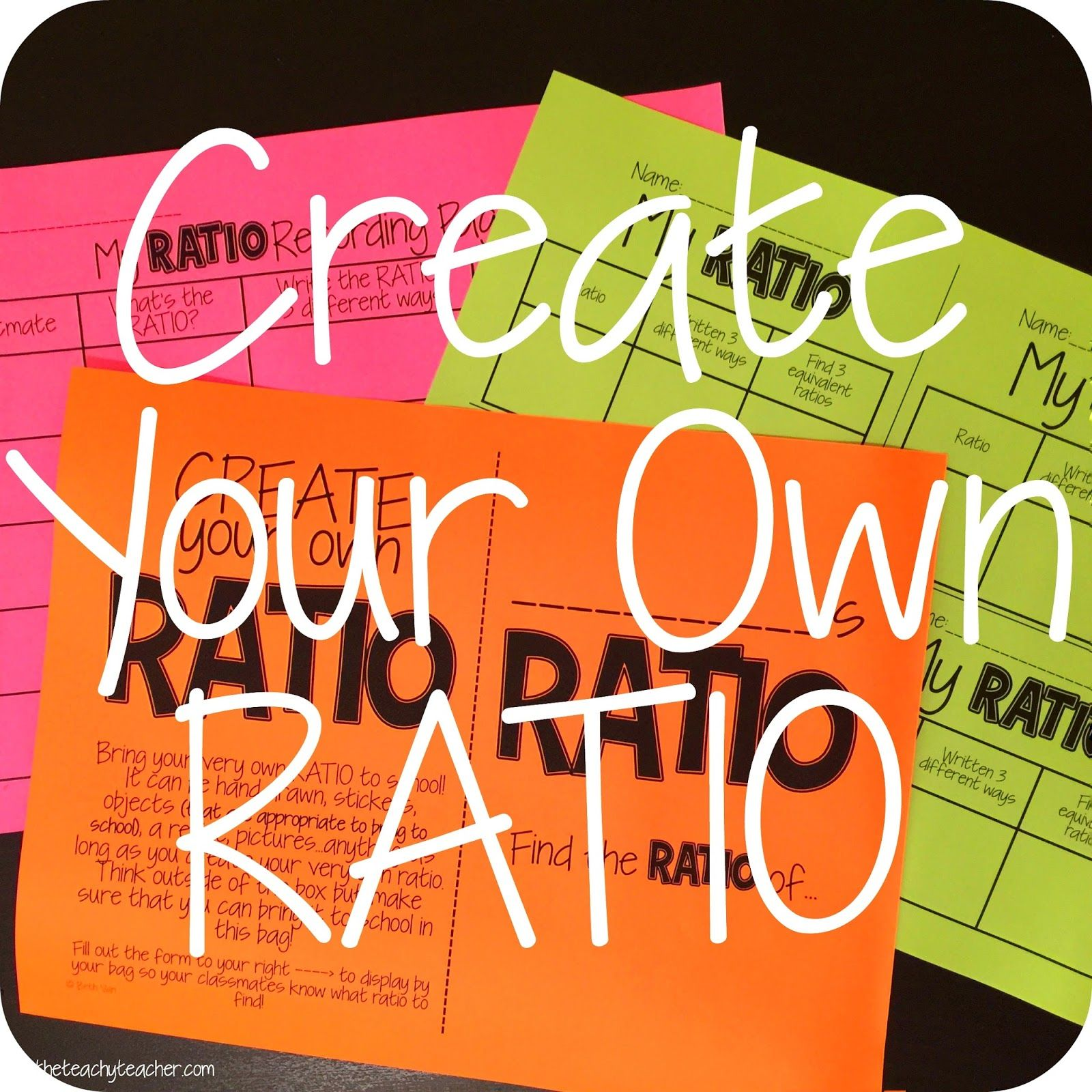 Easy Whole Group Activity Or Stations With Ratios