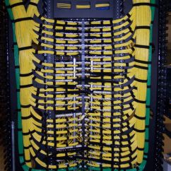 Cat6 Patch Panel Wiring Diagram Opel Vectra C Radio Bundling Of Serial Cable Runs At A Data Center Wires