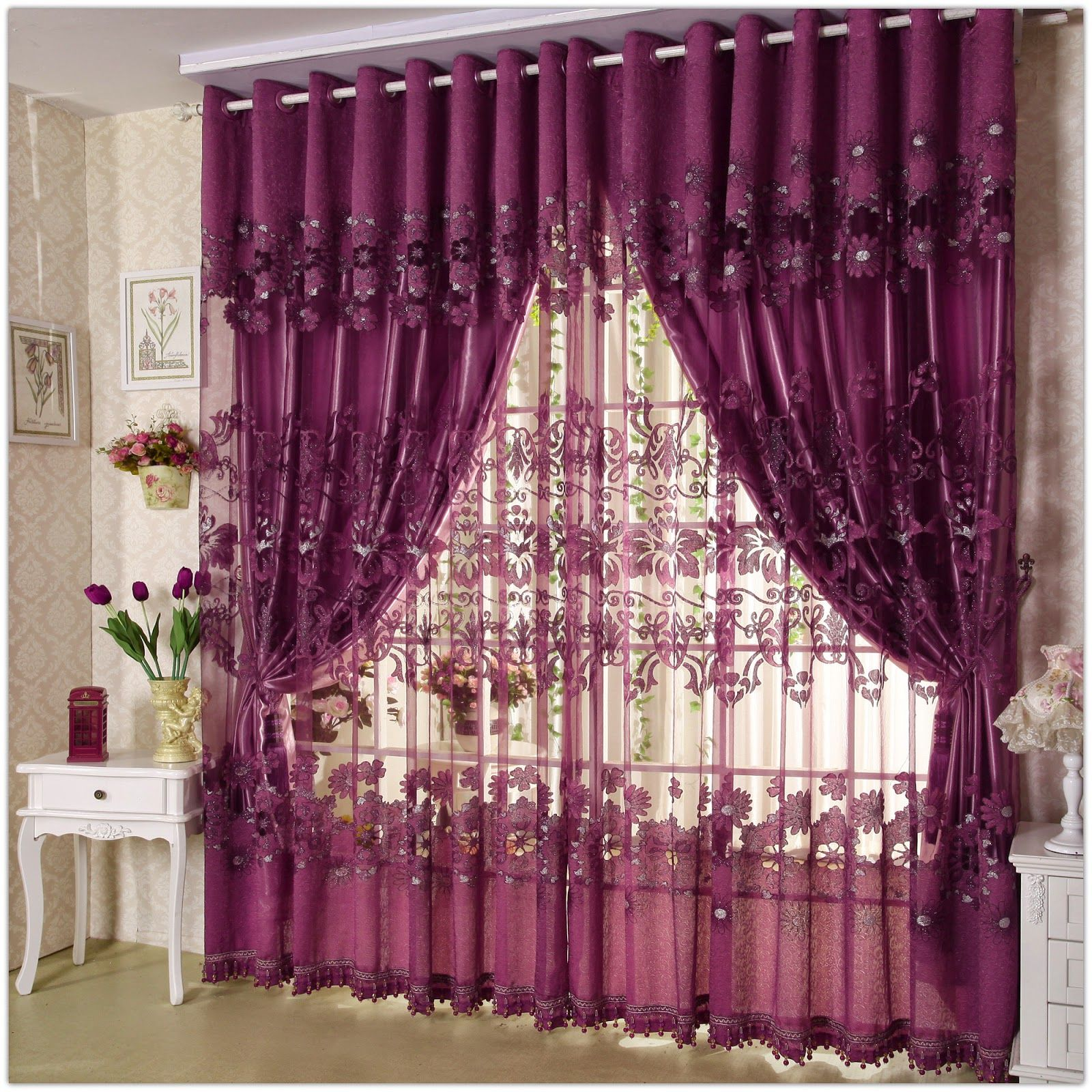 Unique Curtain Designs For Living Room Window Decorations Unique