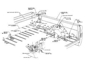 BED: Fleetside diagram | '60s Chevy C10  Body & Misc