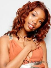 online wigs short curly red african