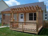 Pergola Over Deck Ideas - Best Home Design Ideas ...
