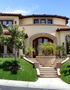 Exterior mediterranean houses rancho capistrano inspiration for home also http faridabadrealestate properties in faridabad property rh pinterest