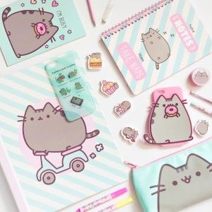 FREEBIE Pusheen Phone Wallpaper for Android  iPhone