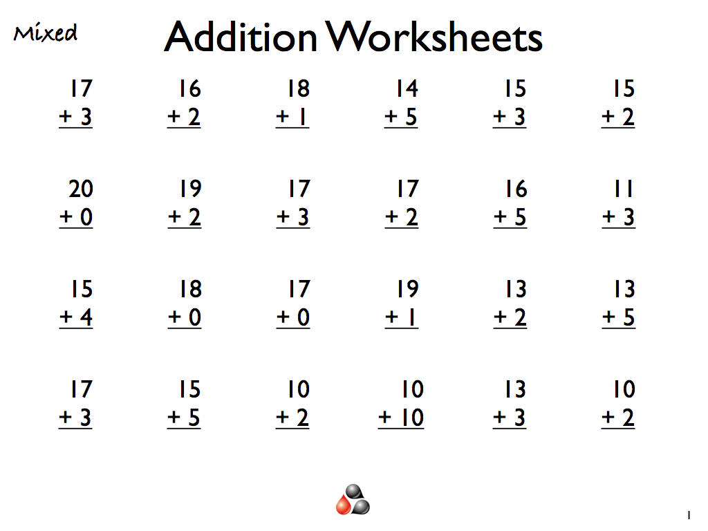 X 768 48kb First Grade Addition And Subtraction Worksheets
