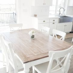 White Kitchen Tables Traditional Cabinets Pictures Whitelanedecor Dining Room Table Liming