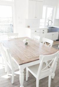 #whitelanedecor @whitelanedecor Dining room table, liming ...