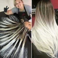 This new hair dying technique is amazing! Hair painting is ...