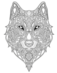 wolf design - Pesquisa Google   quilling   Pinterest ...