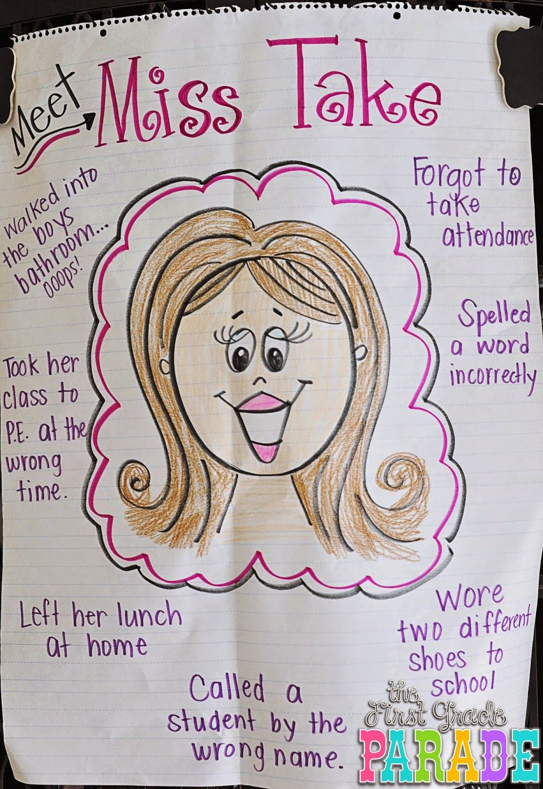 A Great Idea For Creating A Risk Free Classroom Environment Eat Activity For The First Few