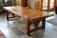 images of rustic dining tables | Custom Farmhouse Dining ...