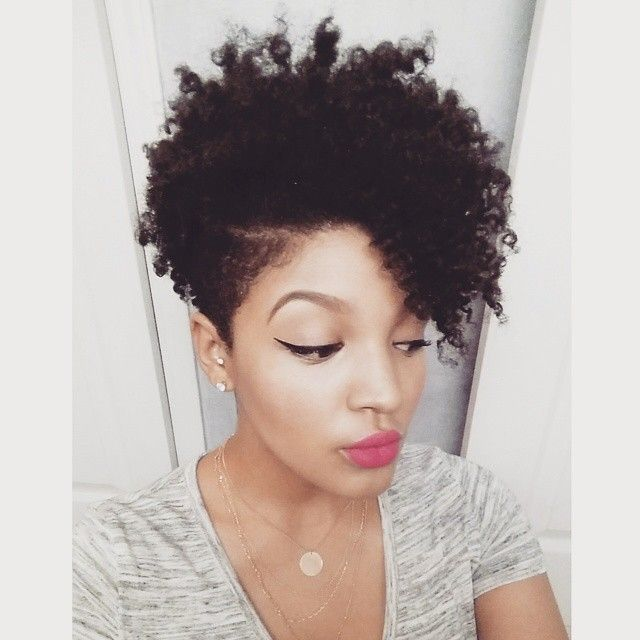 Tapered Natural Haircuts For Black Women Google Search Cuts