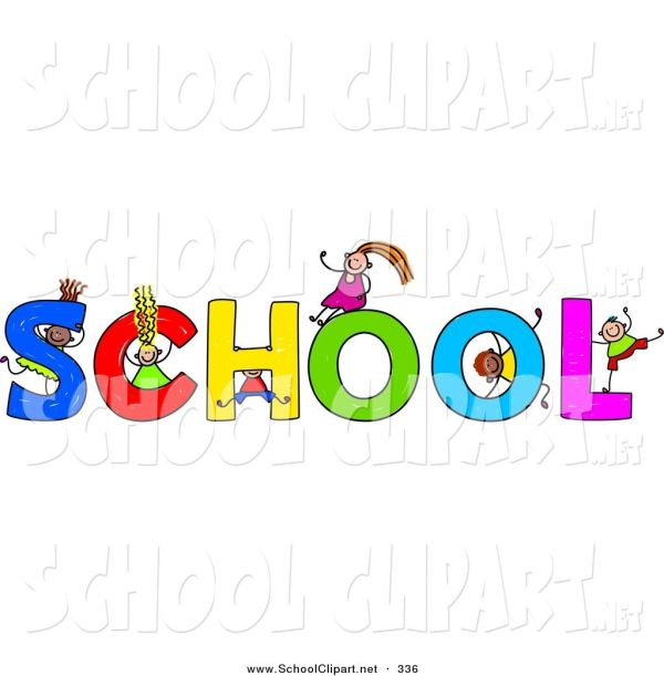 School Clip Art Word