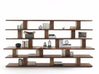 Cabinet & Storage Stylish Solid Wood Bookcase Unique ...