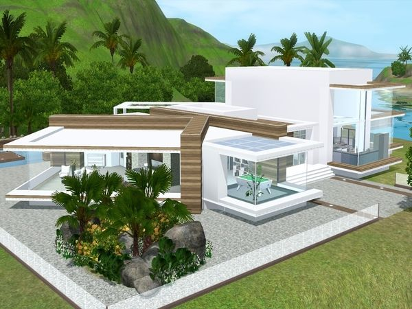 Modern View House By Suzz86 Sims 3 Downloads CC Caboodle The