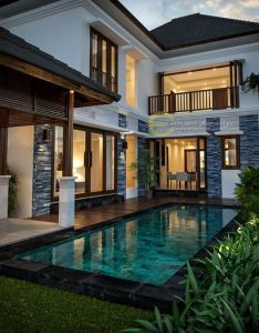 Captivating tropical house designs for summer also jasa arsitek desain rumah bapak ade ide buat pinterest rh