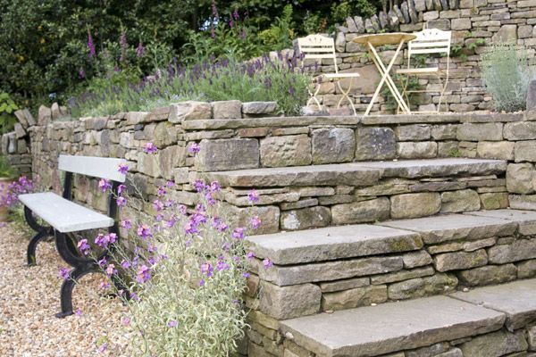 Dry Stone Walls Stone Steps And Stone Features STONE PAVING