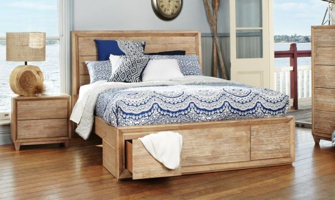 Ashville Timber Queen Size Bed Bedshed Http Www