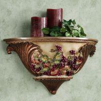 Wall Shelf | Tuscan Decor For My Kitchen | Pinterest ...